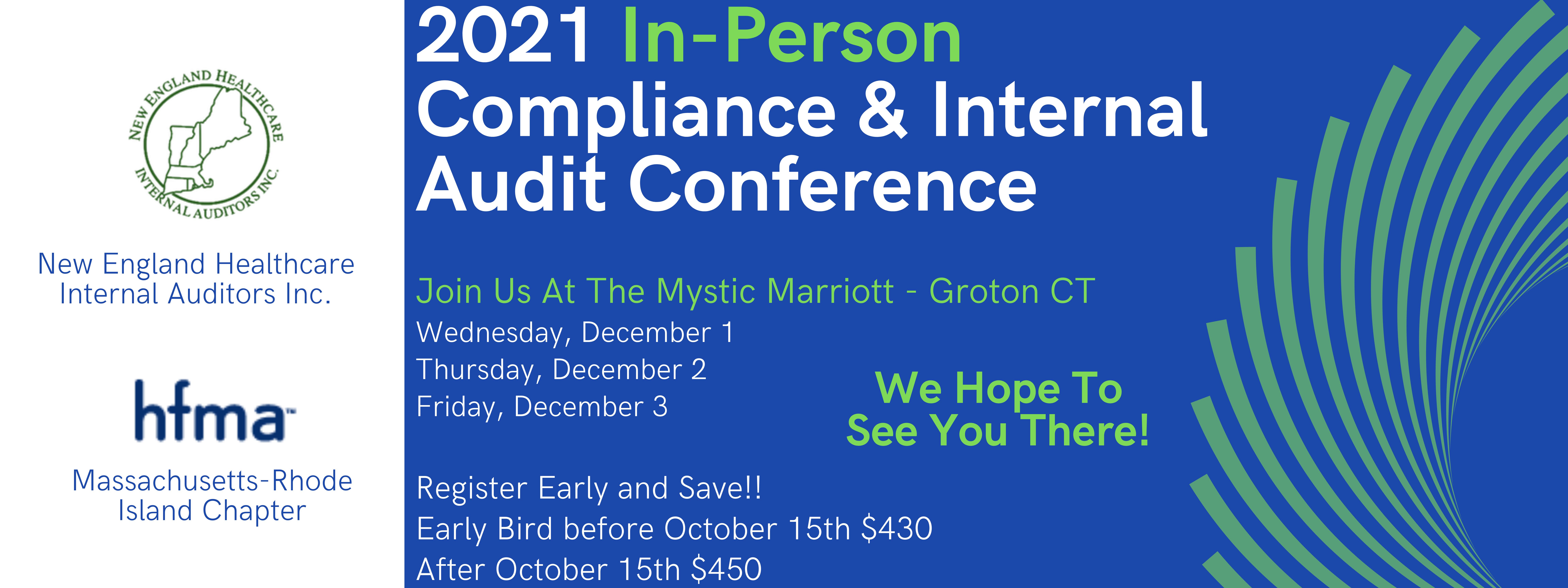 HFMA MA-RI & NEHIA Joint Compliance Conference